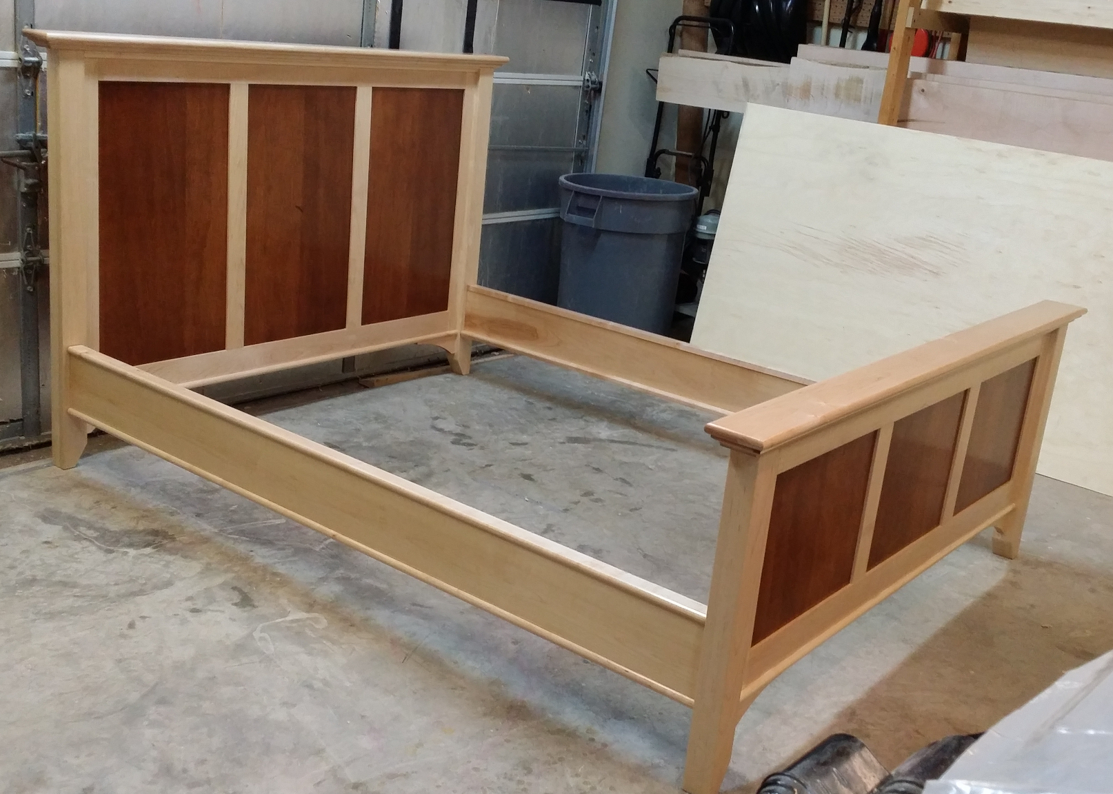 Maple Bedroom Set | Diary of a Wood Nerd