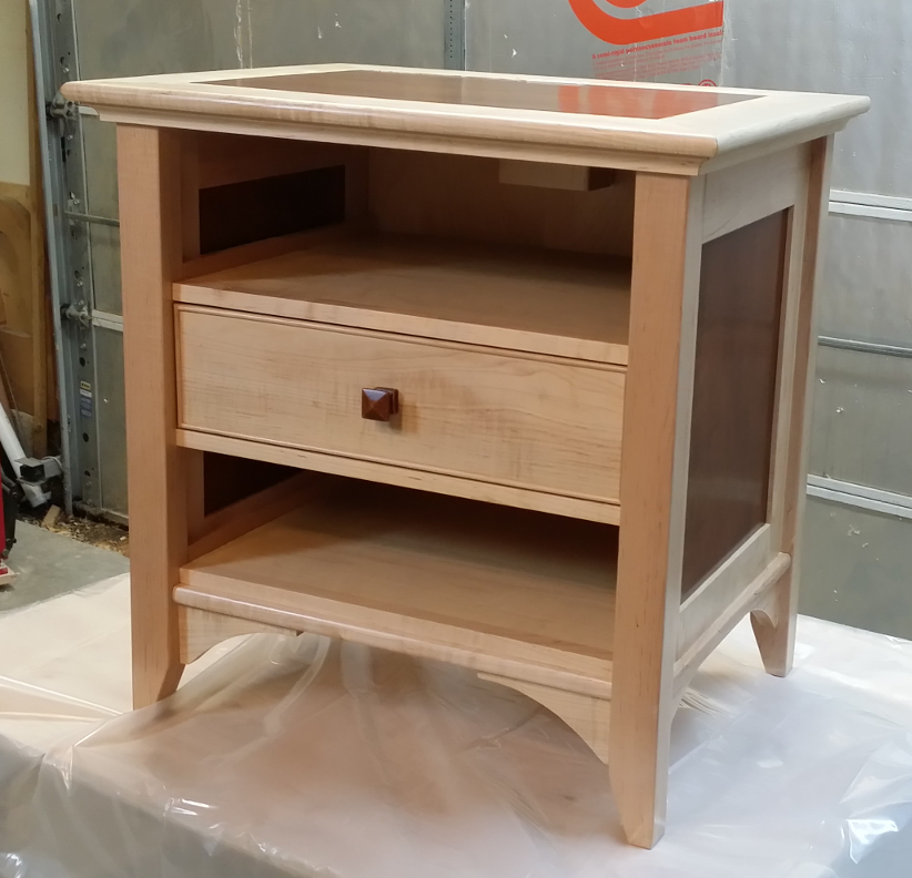 Maple night stand part one diary of a wood nerd