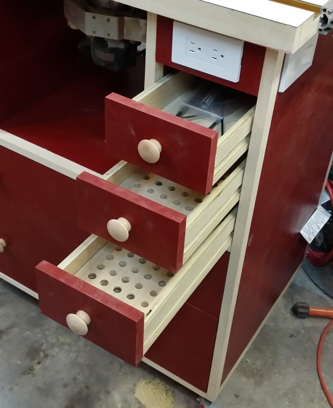 Router Table Build Completion Diary Of A Wood Nerd